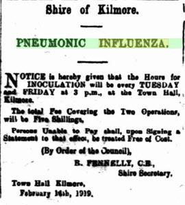 Pneumonic influenza