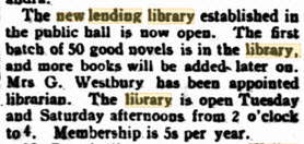 new library open