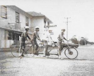 Greenwich Quadruplet Bicycle Team