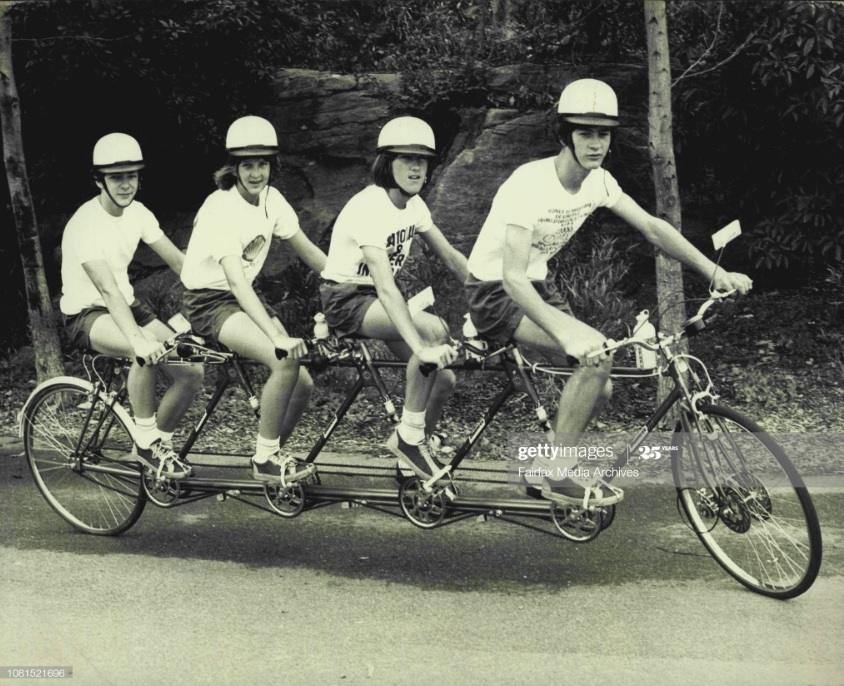 Greenwich Quadruplet Bicycle Ride Team