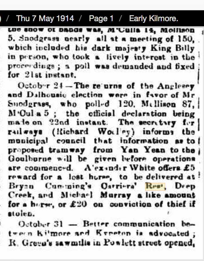 Kilmore Free Press - 11th May, 1905