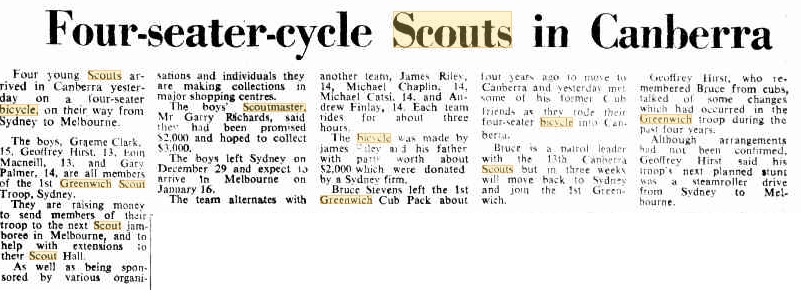 The Canberra Times - 3rd January, 1976
