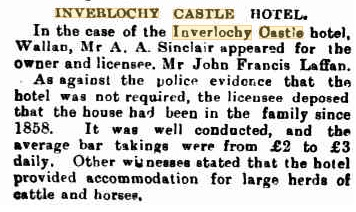 Liquor License Hearing - _Kilmore Free Press - June 10th, 1909