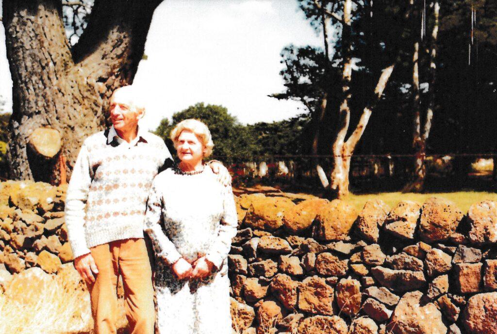 Ivo and Alison Righetti at Mac'sfield