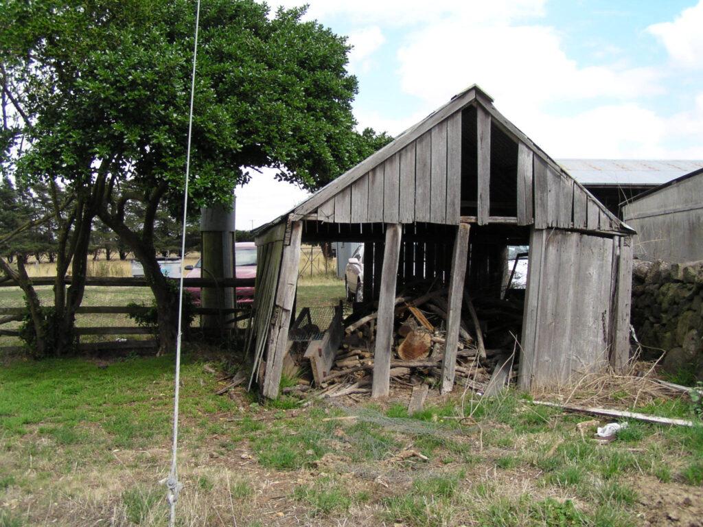 Storage shed at Mac'sfield