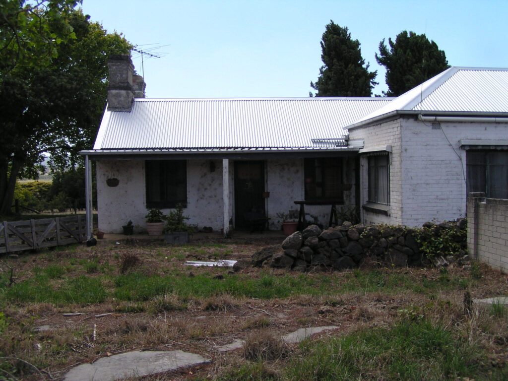 West side of house at Mac'sfield