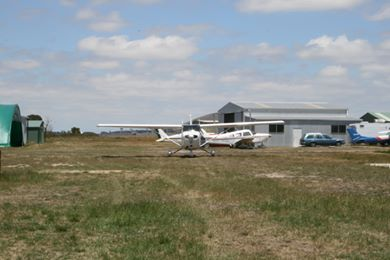 Wallan Airfield maintenance shed