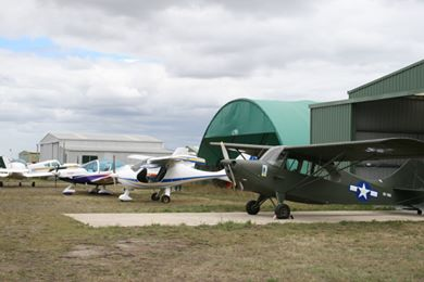 Fly-in day day at Wallan Airfield in 2007